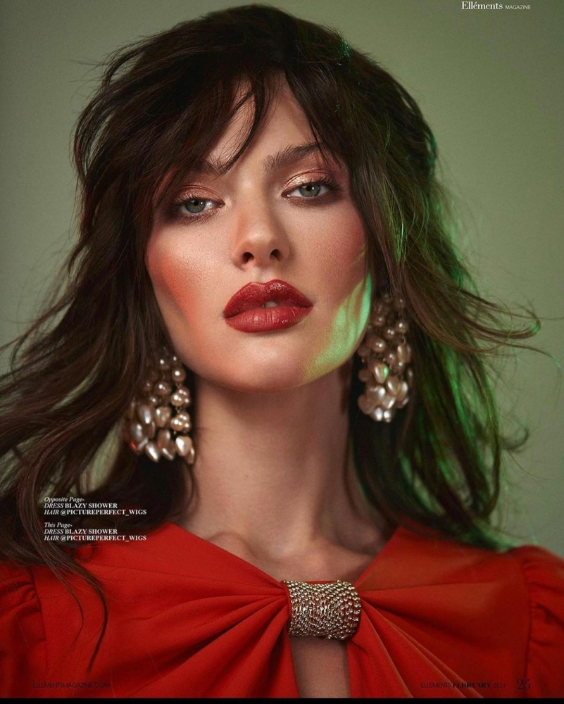 ANGELINA FOR ELLEMENTS MAGAZINE