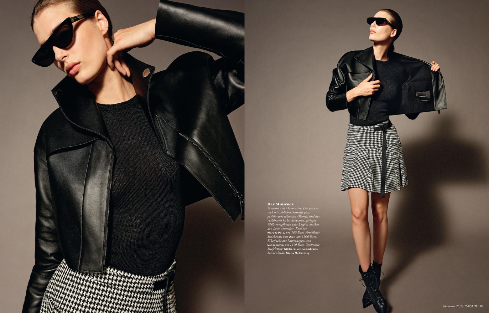 Claire For Madame Magazine