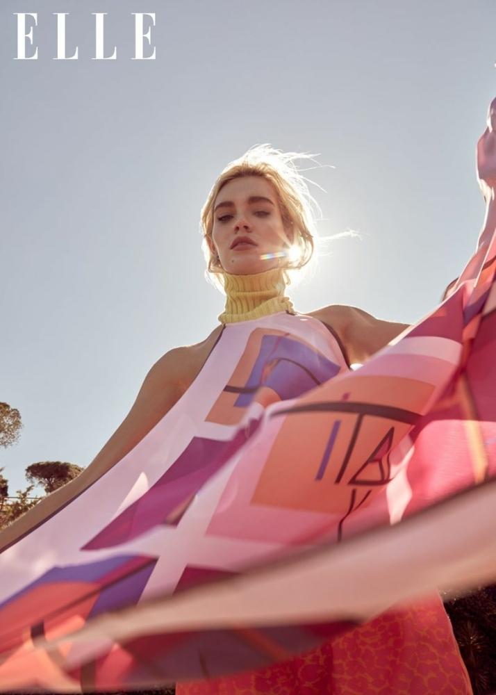 Liliya for Elle Russia