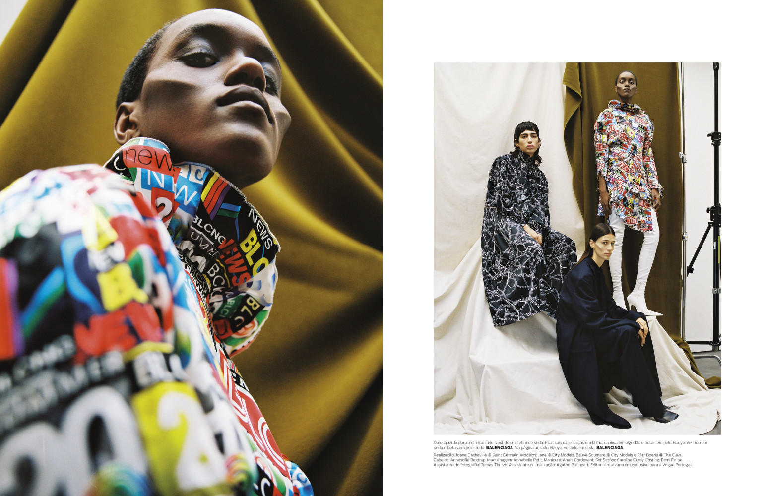 Bauye and Jane For Vogue Portugal