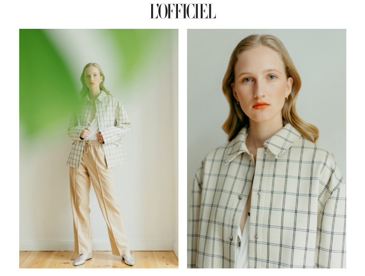 Eszter for l'Officiel Austria
