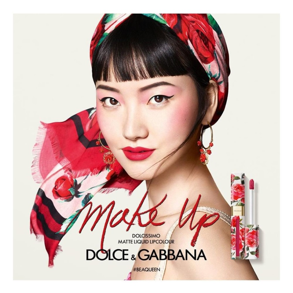 Joony For Dolce Gabbana Beauty Campaign