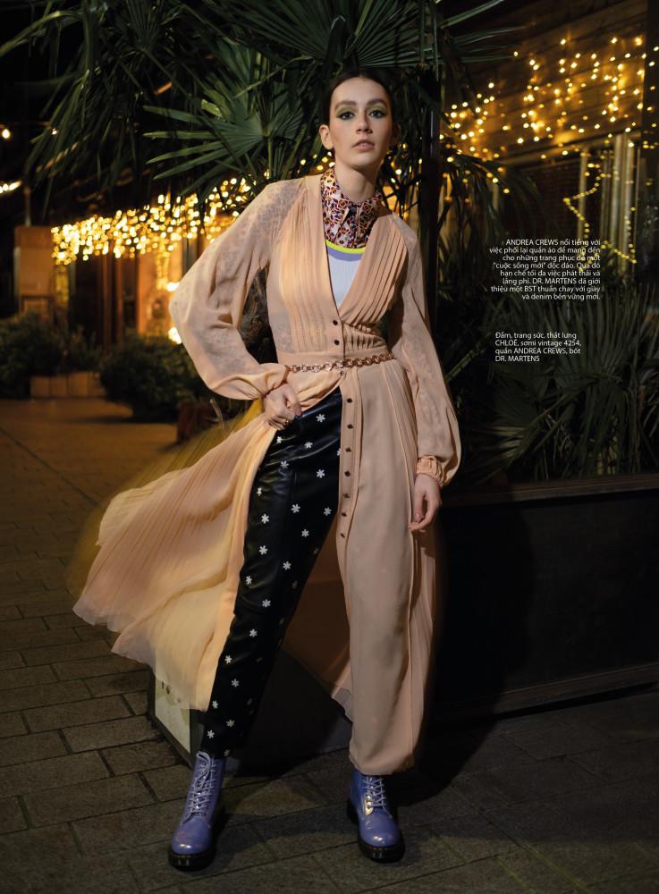 Parker for Elle Magazine