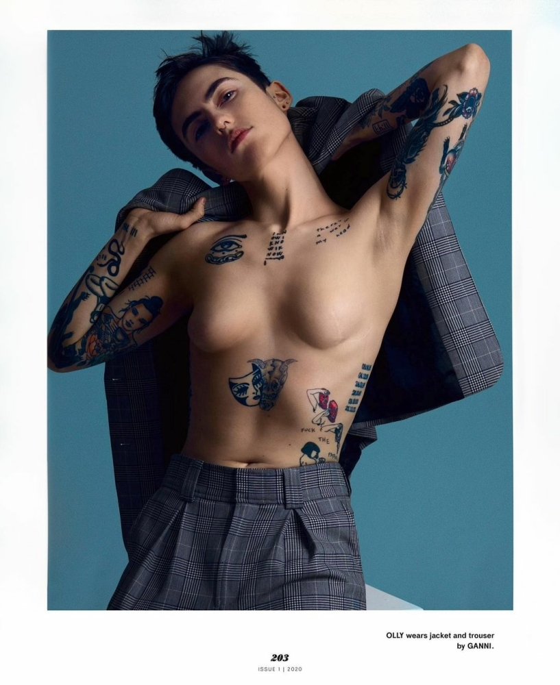 OLLY FOR PLAYGIRL MAGAZINE