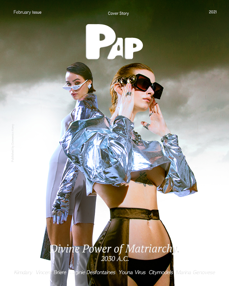 YOUNA FOR PAP MAGAZINE