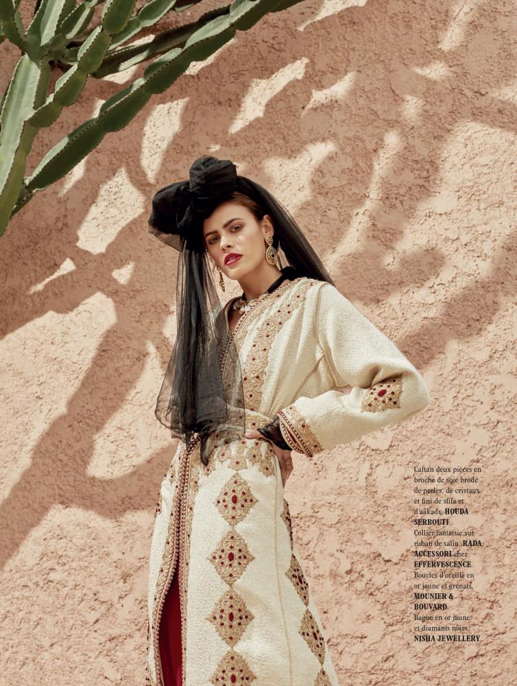 Alisar Ailabouni for L'Officiel Maroc