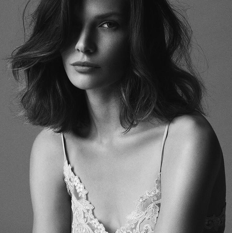 Alexandra Martynova for La Perla lingerie