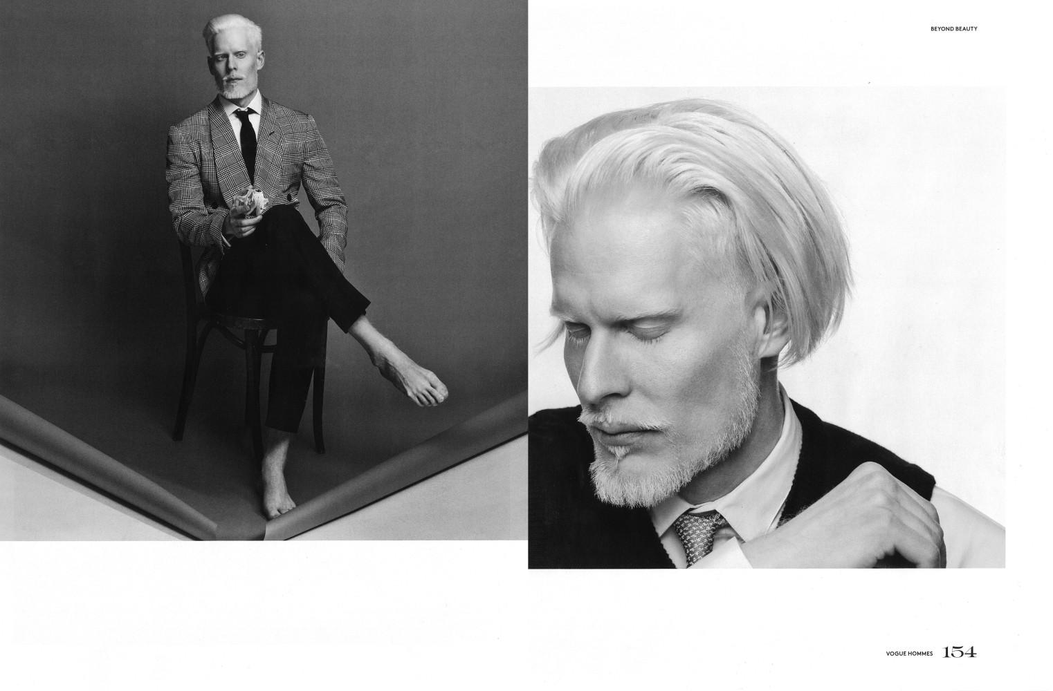 Stephen Thompson & Luc Bruyere for Vogue Hommes