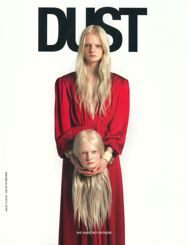 Unia Pakhomova for Dust Magazine