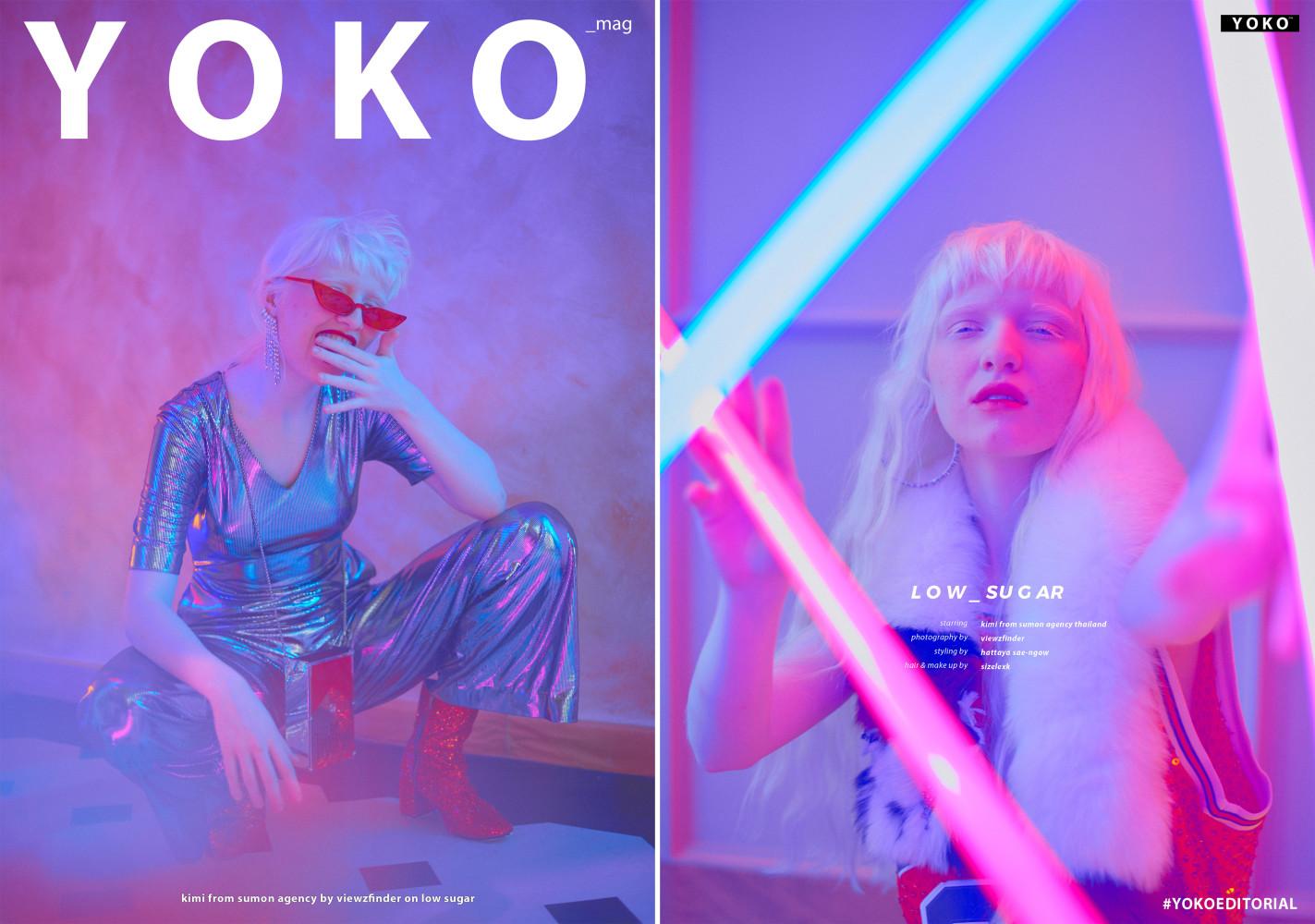 Kimi for YOKO Magazine
