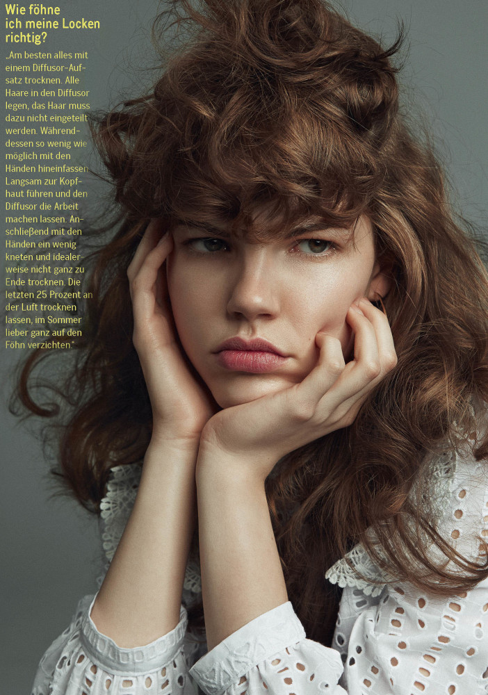 ALANNAH W  GLAMOUR GERMANY BY IVONNE VEITH