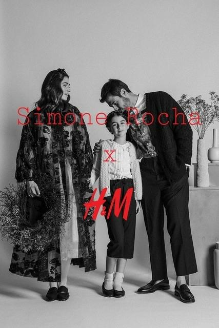 IRIS C , PEDRO S AND DAUGHTER FOR H&M SIMONE ROCHA BY SANJA EBIP JAGATIC
