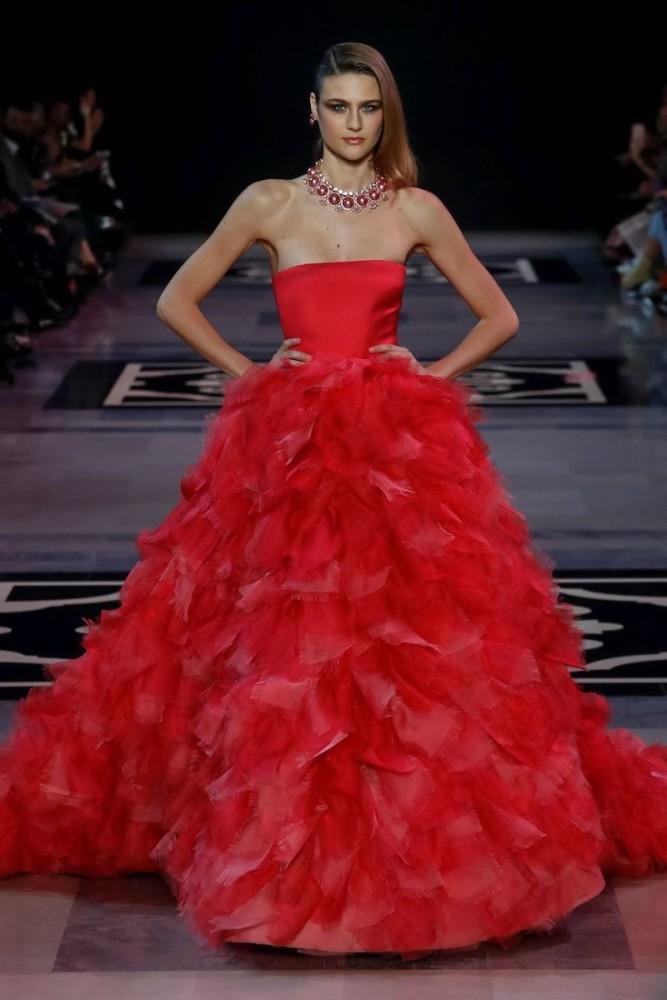 Silke Hajunga for Georges Hobeika Haute Couture Spring 2019 Show