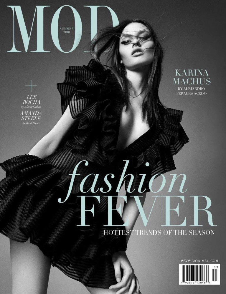 KARINA M COVER FOR MOD MAGAZINE BY ALEJANDRO PERALES ACEDO