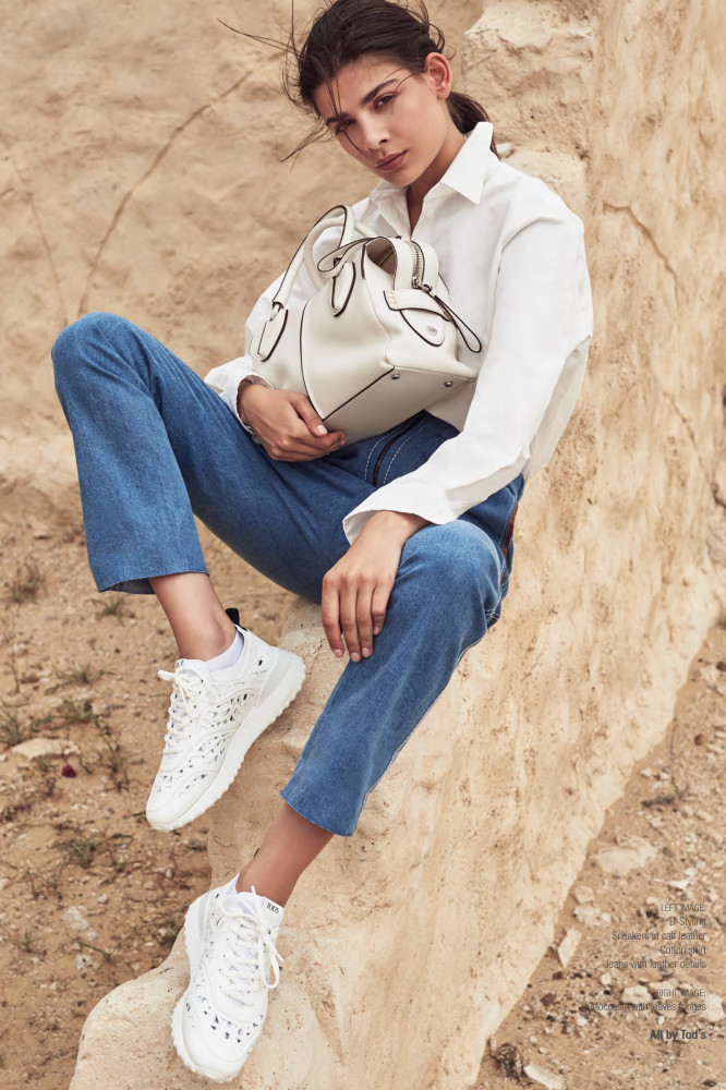 ALYA T FOR TODS ADVERTORIAL S/S 2019