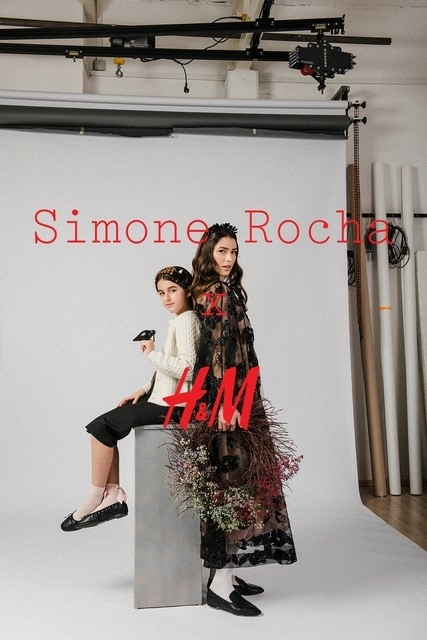 IRIS C , PEDRO S AND DAUGHTER FOR H&M SIMONE ROCHA BY SANJA EBIP JAGATIC