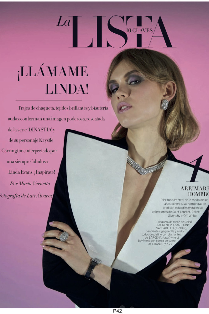 MIRIAM FOR HARPER´ S BAZAAR SPAIN BY LUIS ALVAREZ