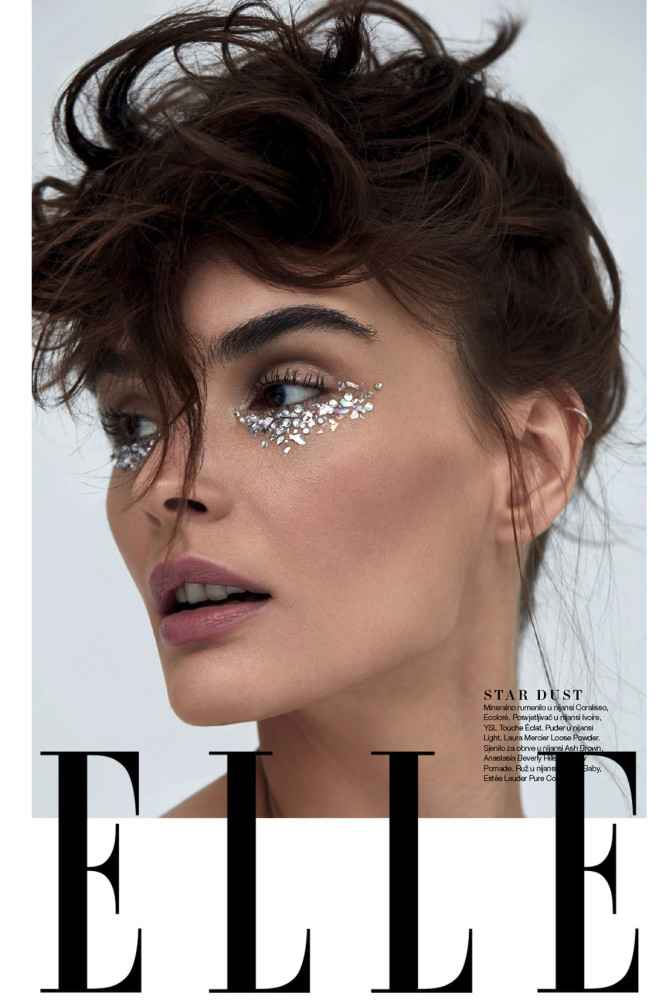 BEATA GRABOWSKA BY IVON WOLAK FOR ELLE CROATIA