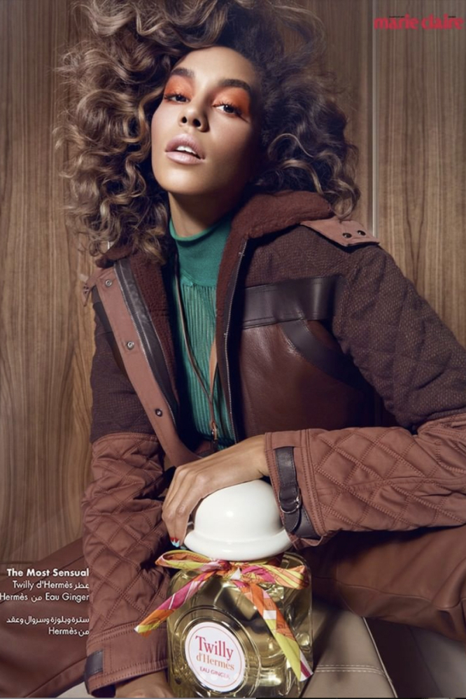 DAYANE L FOR MARIE CLAIRE ARABIA BY STEPHAN EMOUNET