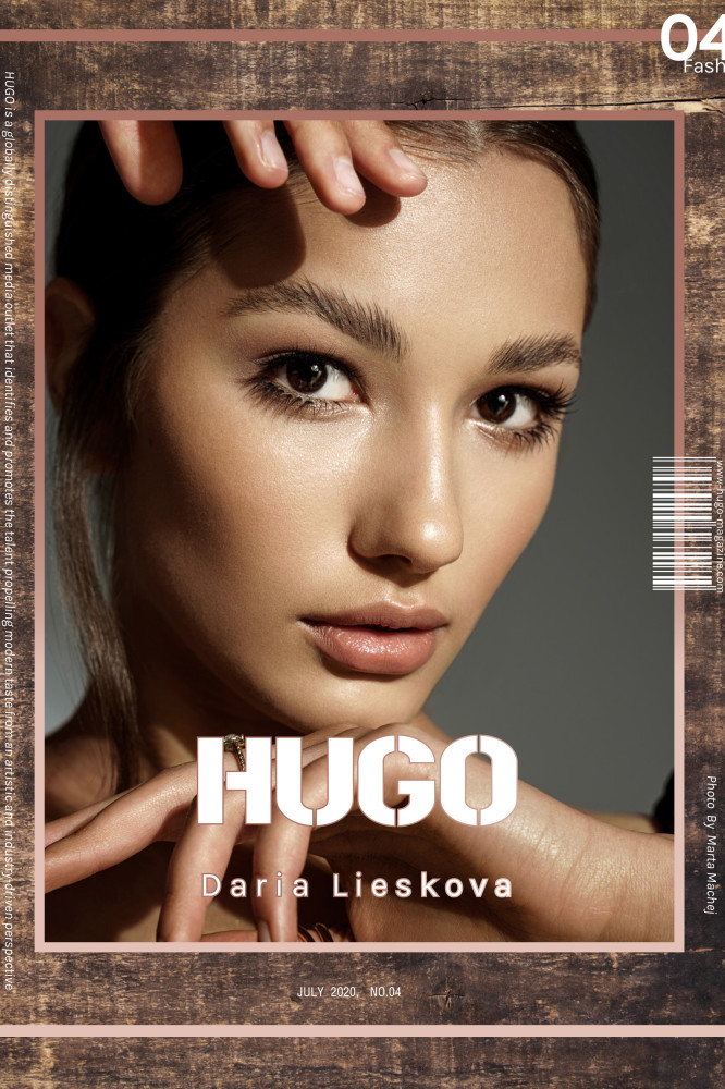 DARIA L FOR HUGO MAGAZINE BY MARTA MACHEJ
