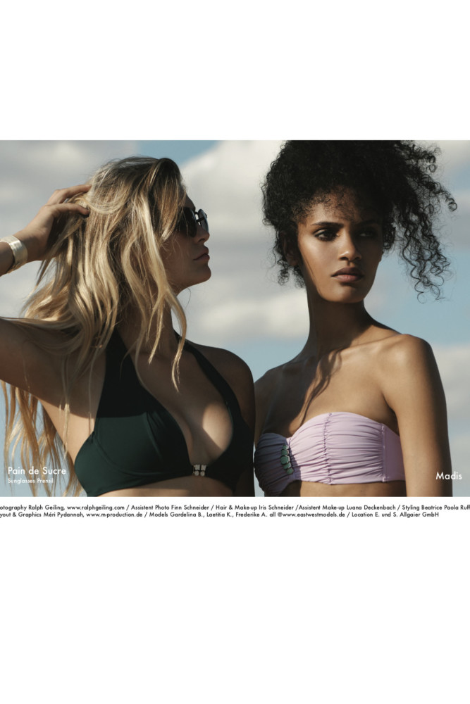 FREDERIKE +GARDELINA +LAETITIA FOR LINEA INTIMA BY RALPH GEILING