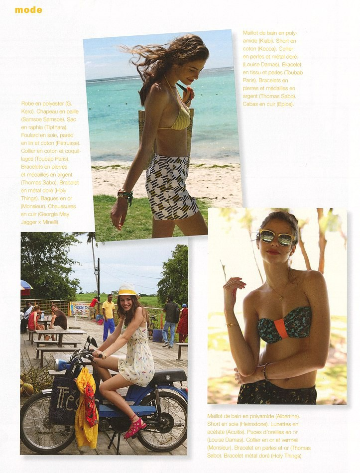 """PAULINA F FOR FRENCH MARIE CLAIRE BY ANNABELLE TIAFFAY"""""""