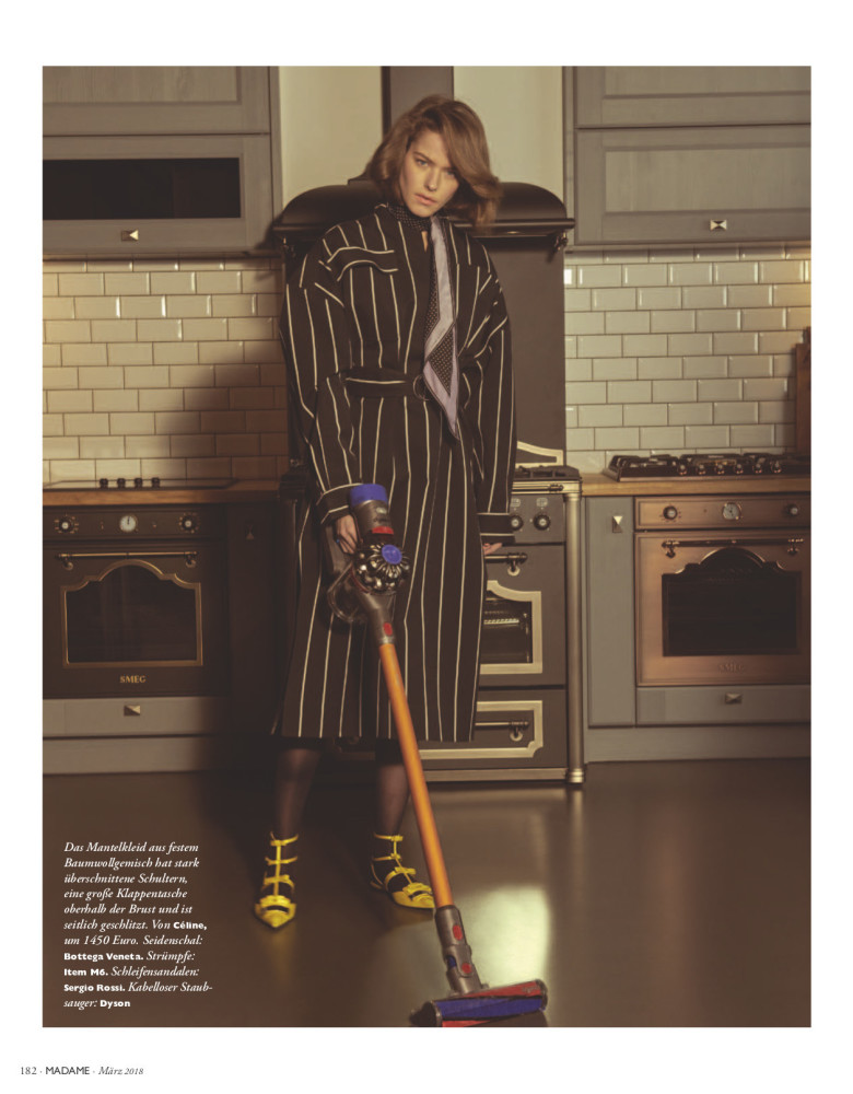 ALEXANDRA HOCHGUERTEL FOR MADAME GERMANY MARCH '18 BY KEVIN SINCLAIR