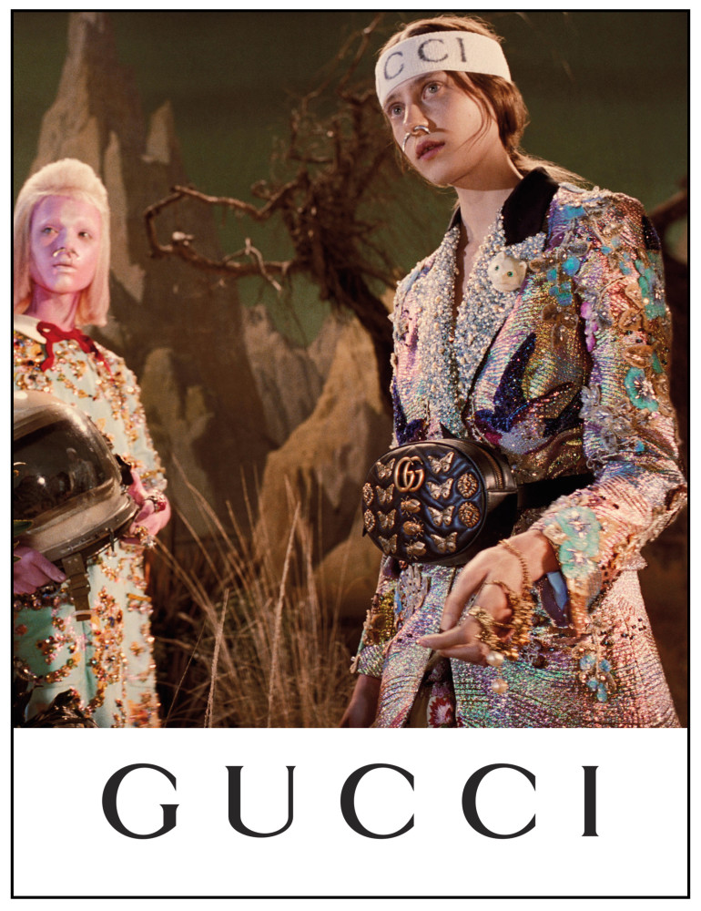 KAY | GUCCI FW'17 CAMPAIGN