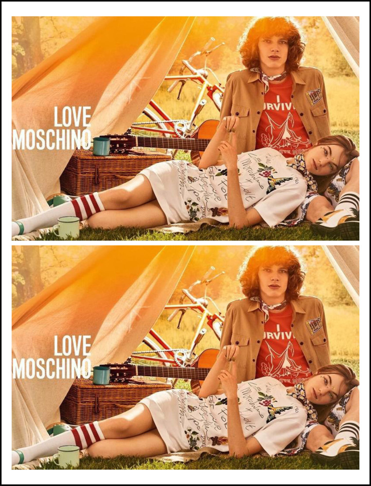 ERIK   MOSCHINO LOVE CAMPAIGN