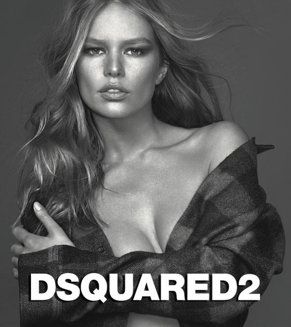 Anna Ewers | for DSQUARED2 'WOODS' Fragrance | by Mert Alas & Marcus Piggott