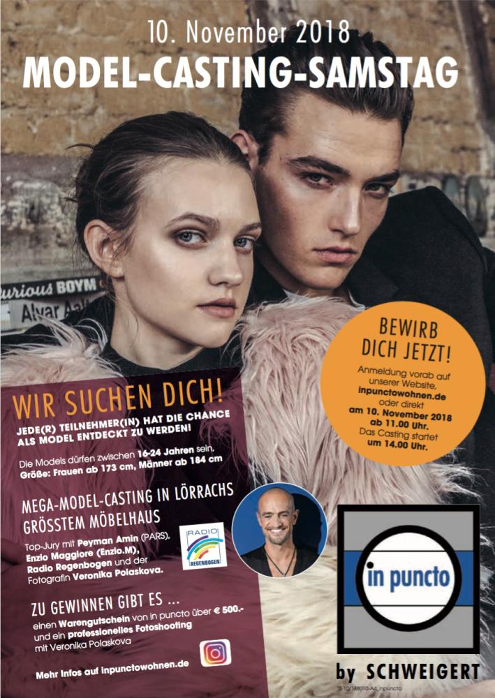 MODEL-CASTING | 10.11.2018 | Lörrach -GERMANY-