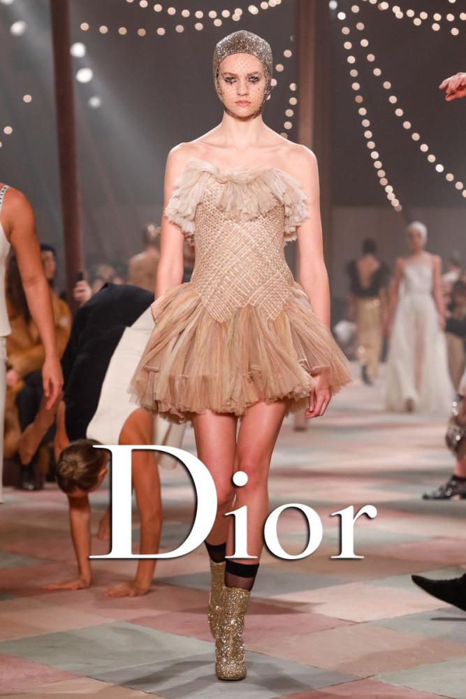 Vanessa Hartog | Dior Couture Spring Summer 2019 | Paris
