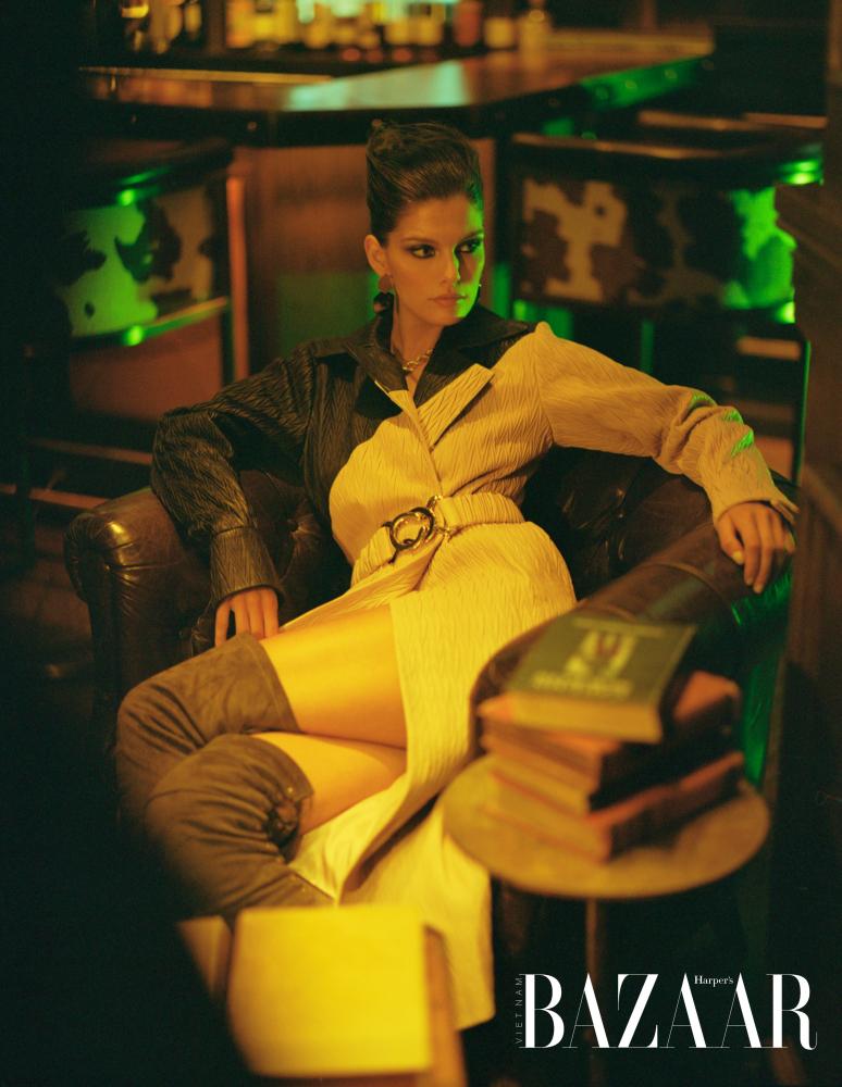 Vanessa Fuchs | by Diane Zhao | for Harper's Bazaar Vietnam