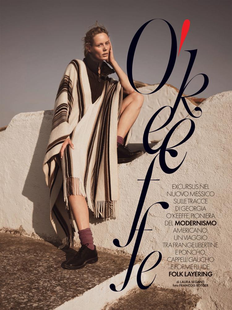 Marlijn Hoek | for Elle Italia | by Francois Rotger