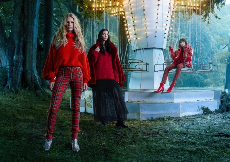 ANNA EWERS | H&M | HOLIDAY 2017