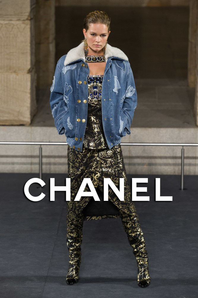Anna Ewers | Chanel Pre Fall 2019 | New York