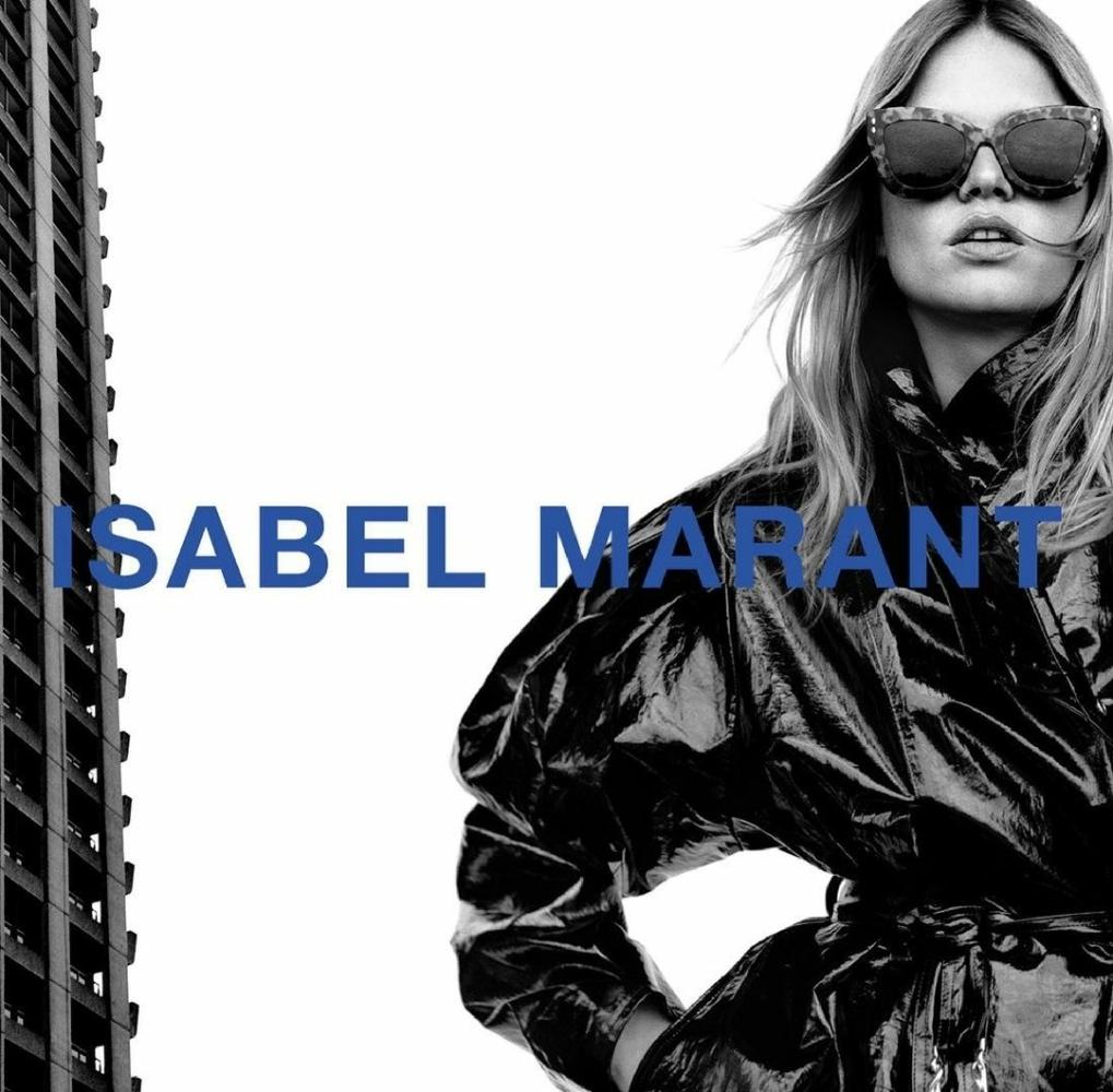 Anna Ewers | by Alasdair McLellan | for Isabel Marant