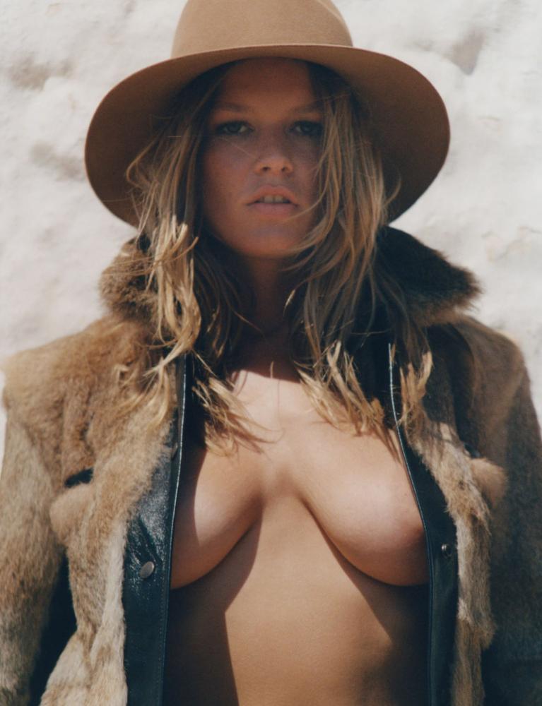 Anna Ewers | by Henrik Purienne | for Vogue Paris August 2021