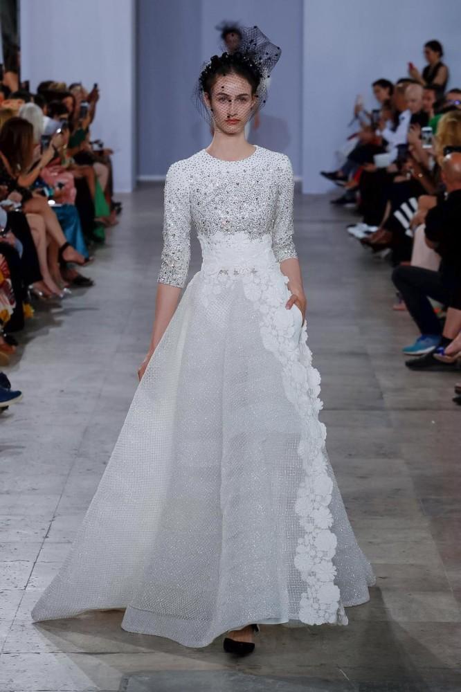Timea Birkner | Georges Chakra Couture F/W 2019 | Paris Fashion Week