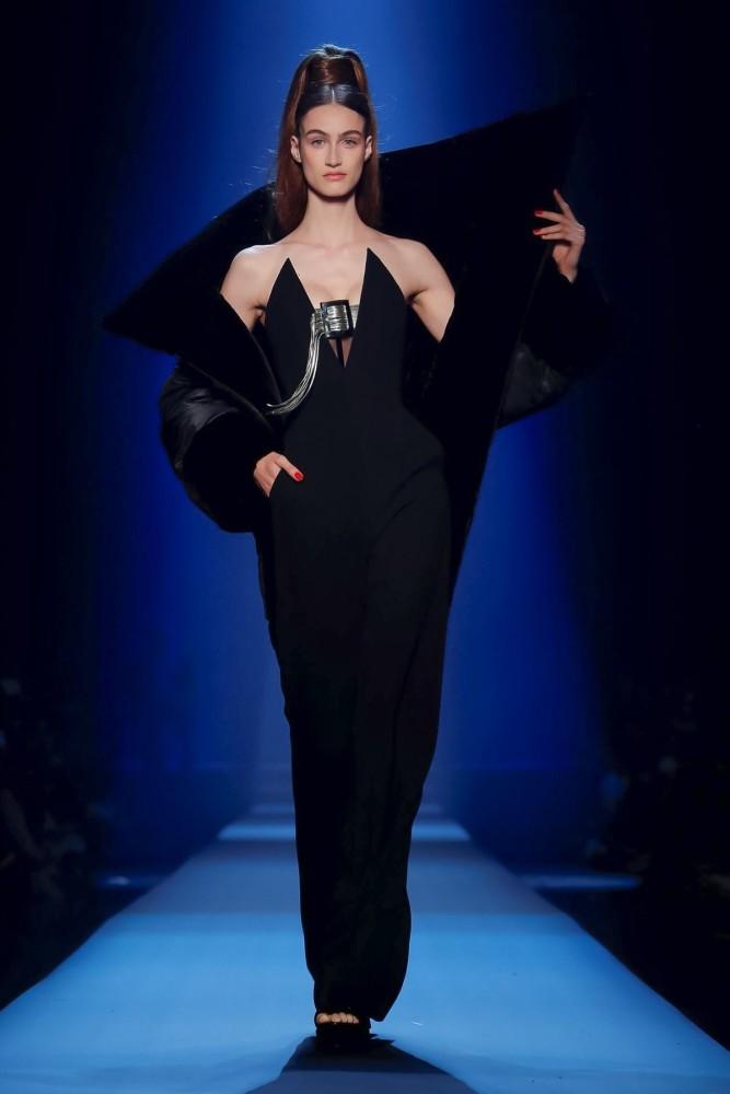 Timea Birkner | Jean Paul Gaultier Couture F/W 2019 | Paris Fashion Week