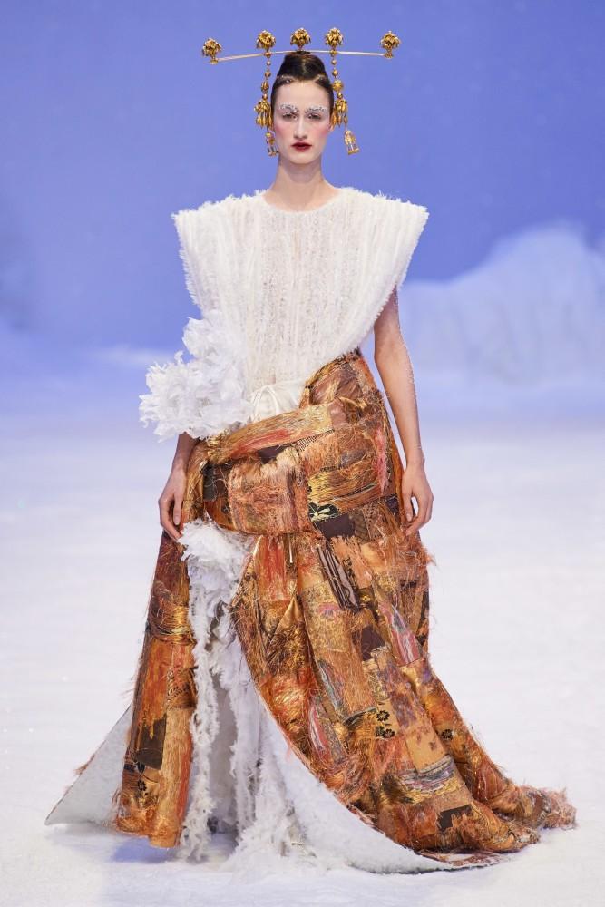 Timea Birkner | Guo Pei Haute Couture Spring Summer 2020 Paris