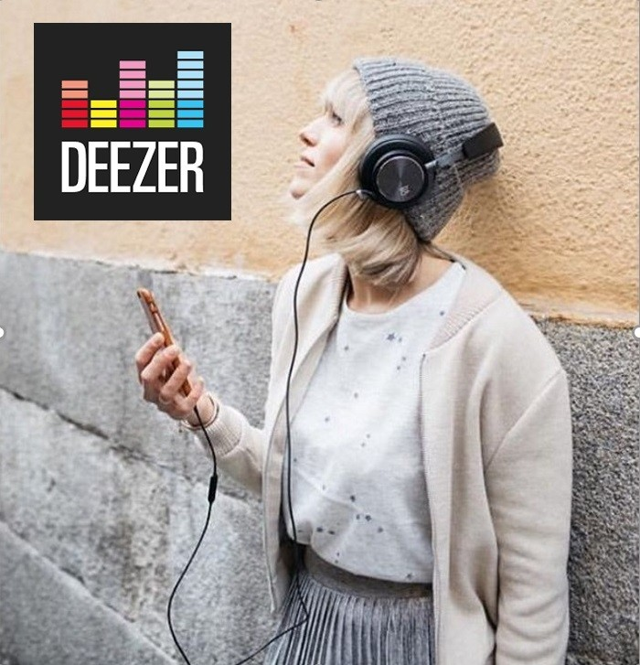 Ellie shoots for Deezer