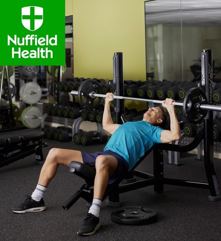 Spencer shoots for Nuffield Health