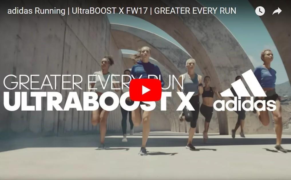 Andrea and Ndidi shoot for Adidas Ultraboost