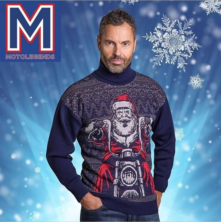 Martin shoots for Motolegends....very festive!