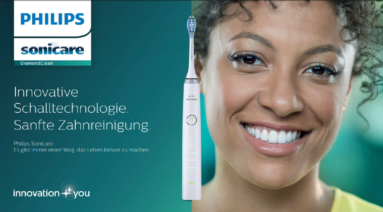 Natalie G shoots for Philips Sonicare
