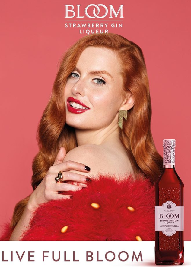 Elinor shoots for Bloom Gin