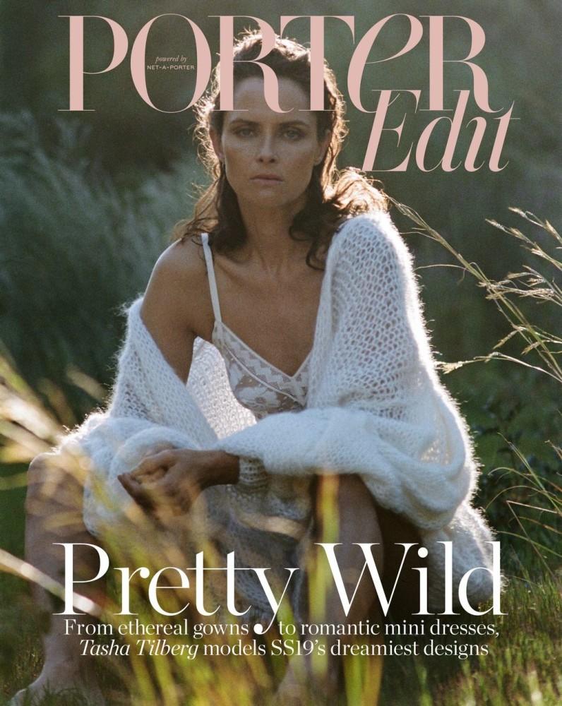 Tasha Tilberg On The Cover Story Of Porter Edit