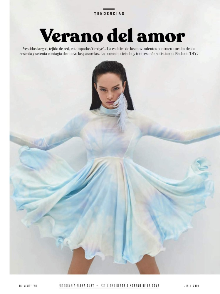 Luma Grothe for Vanity Fair Spain | Iconic Management