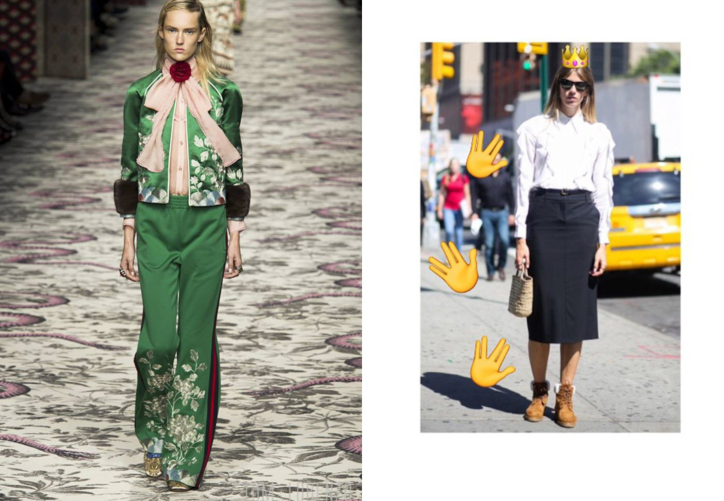 Top-10-noughties-fashion-trends-coming-back-for-summer-street-style-trends-Gucci-runway-show-leading-London-modelling-agency-IMM